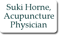 Suki Horne, Acupuncture Physician